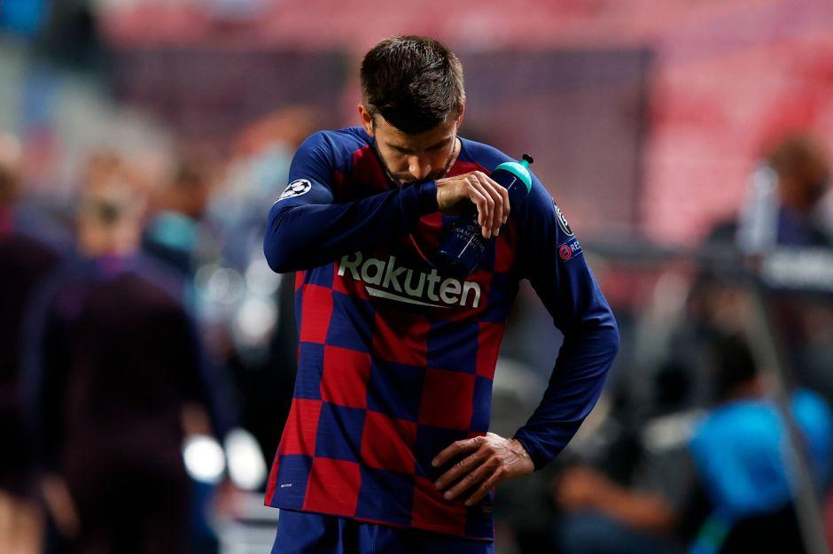 """Piqué llama a una revolución en el Barcelona: """"Es una vergüenza, el club necesita cambios estructurales"""""""