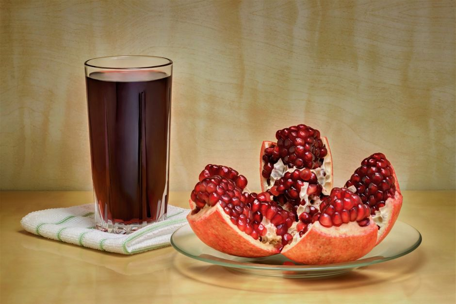 What a glass of pomegranate juice can do for your health