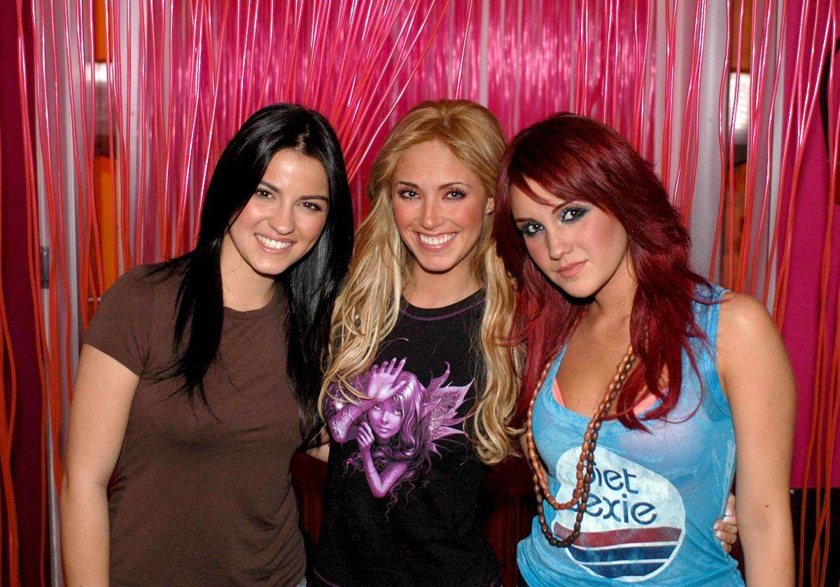 Maite Perroni, Anahí y Dulce María formaron parte de RBD.