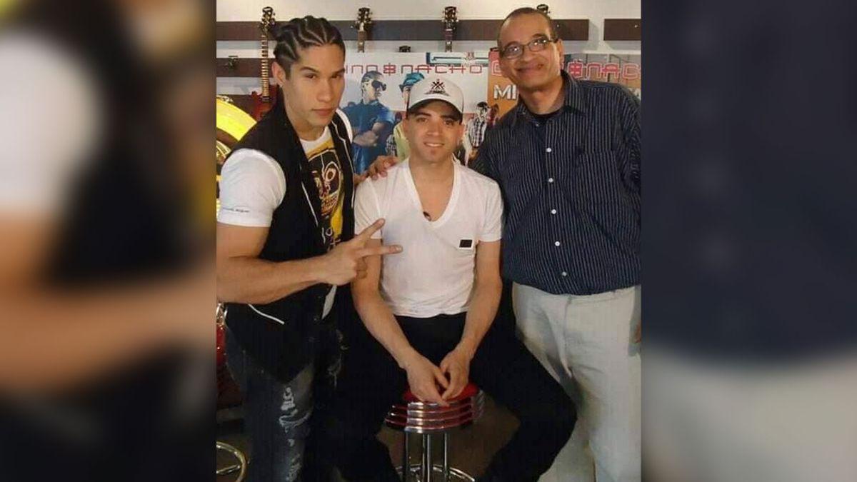 Rubén Ferrer (izquierda) junto a Chino y Nacho.
