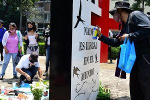 A 10 años de la masacre de San Fernando instalan antimonumento por los 72 migrantes asesinados