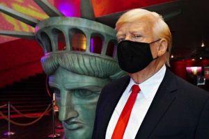 """Museo Madame Tussauds """"obliga"""" a Trump a usar mascarilla al reabrir en Nueva York"""
