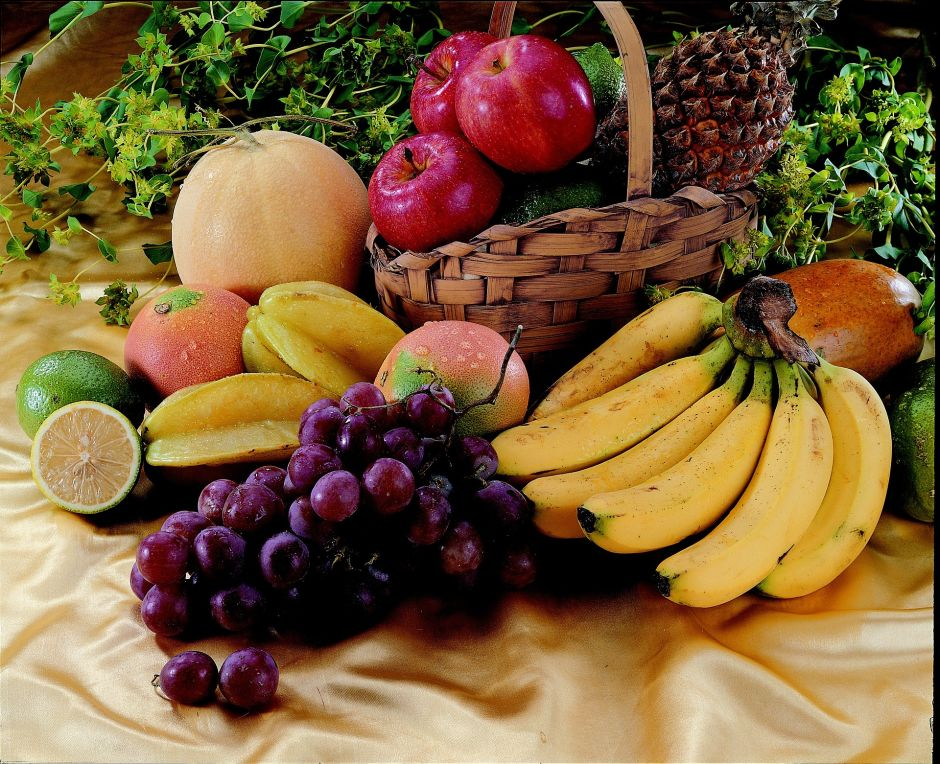 What are the fruits with the most calories and their medicinal benefits