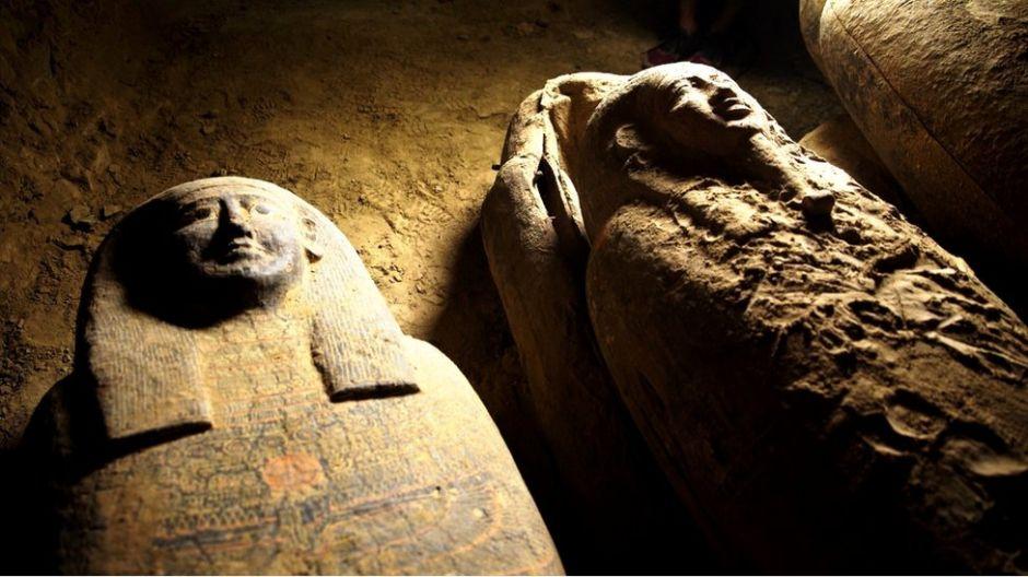 Sarcófagos de Egipto: el extraordinario descubrimiento de 27 ataúdes enterrados hace 2,500 años