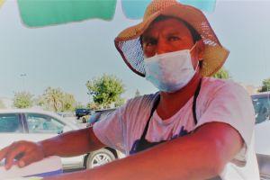 Roban donaciones a vendedor ambulante que fue asaltado