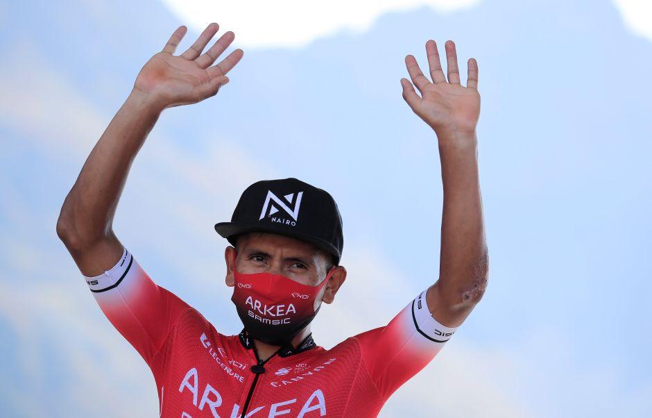 VIDEO: Nairo Quintana muestra las heridas que le ha dejado el Tour de Francia y manda mensaje a Colombia