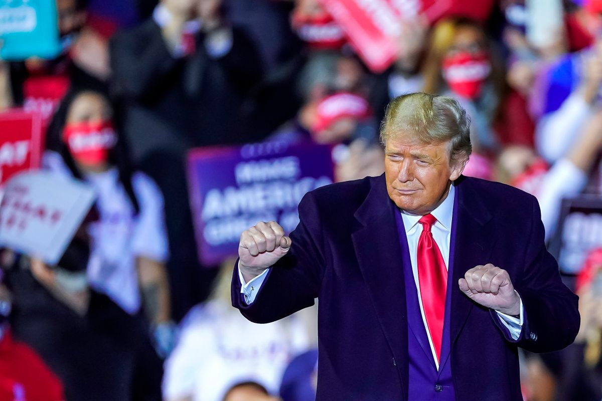 Trump se sintió alentado a hacer su propuesta después de que dos senadores republicanos anunciaran que lo apoyarían.