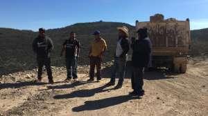 Camioneros migrantes demandan pago por su trabajo al gobierno mexicano