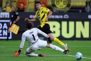 Gio Reyna, el fenómeno de EE.UU. de 17 años, anota su primer gol en la Bundesliga