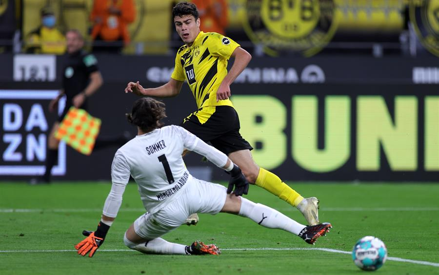 Gio Reyna superó al portero Yann Sommer para su memorable gol.