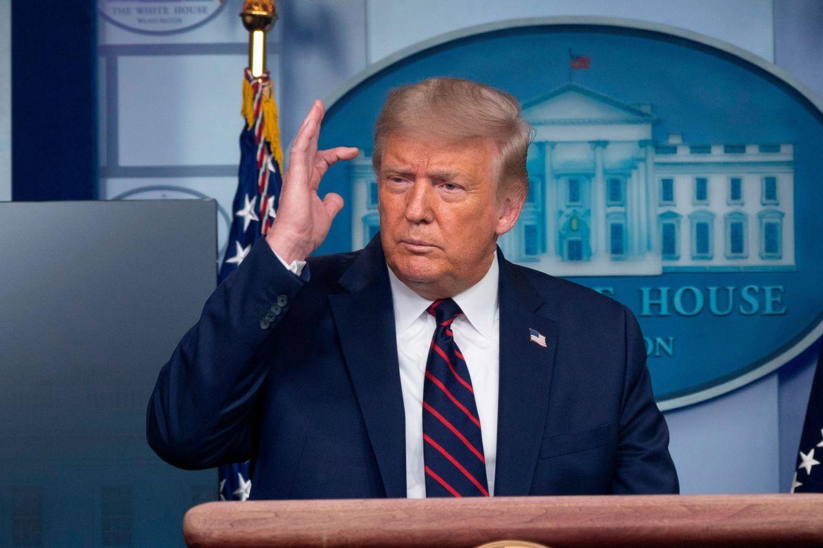 Donald Trump insiste en que hubo fraude electoral; da su primera entrevista como expresidente
