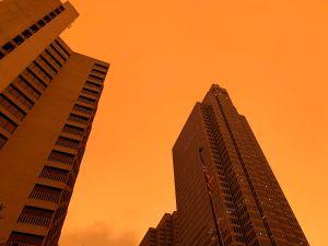 Humo de incendios en California atravesó el país y llegó a Nueva York