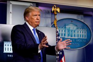 Trump dice que quiere elegir rápido a jueza en el Tribunal Supremo por si hay disputa electoral