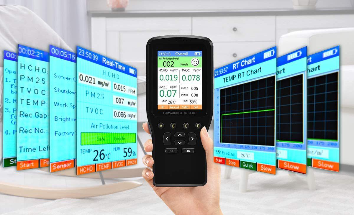 Los mejores dispositivos que puedes tener en casa para medir la calidad del aire