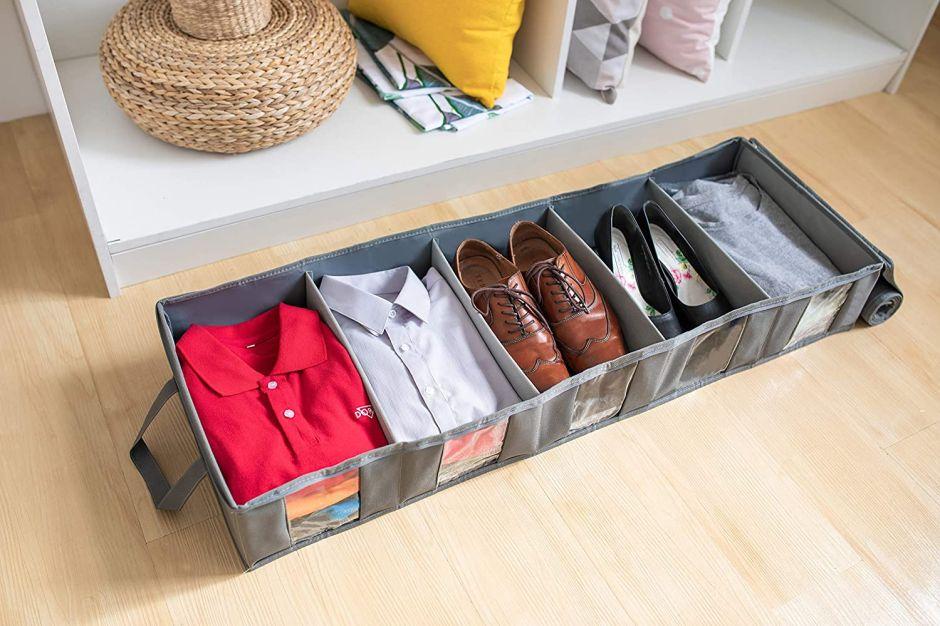 Los mejores sets de contenedores de almacenamiento para guardar tu ropa fuera de temporada
