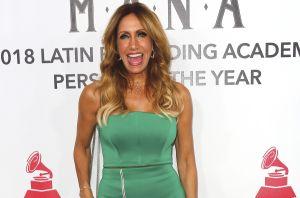 El sexy liguero de Lili Estefan enciende 'El Gordo y La Flaca' en el Día de Acción de Gracias