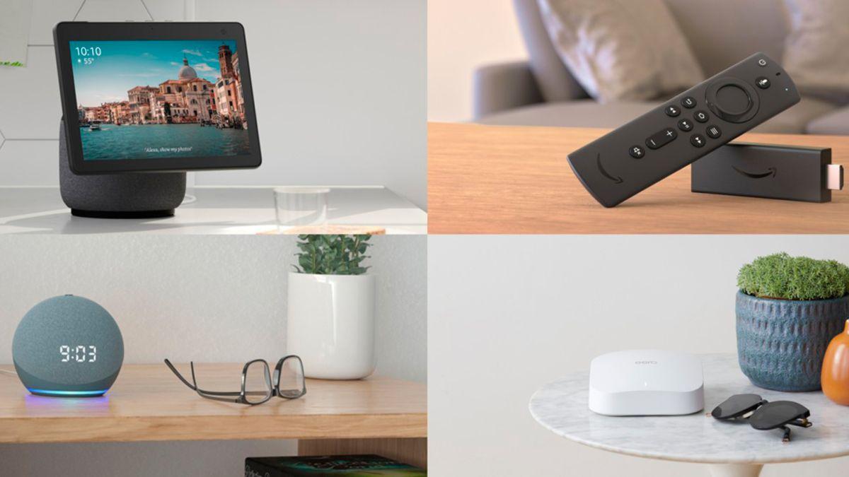 Los nuevos dispositivos Echo y Fire TV son productos sustentables.