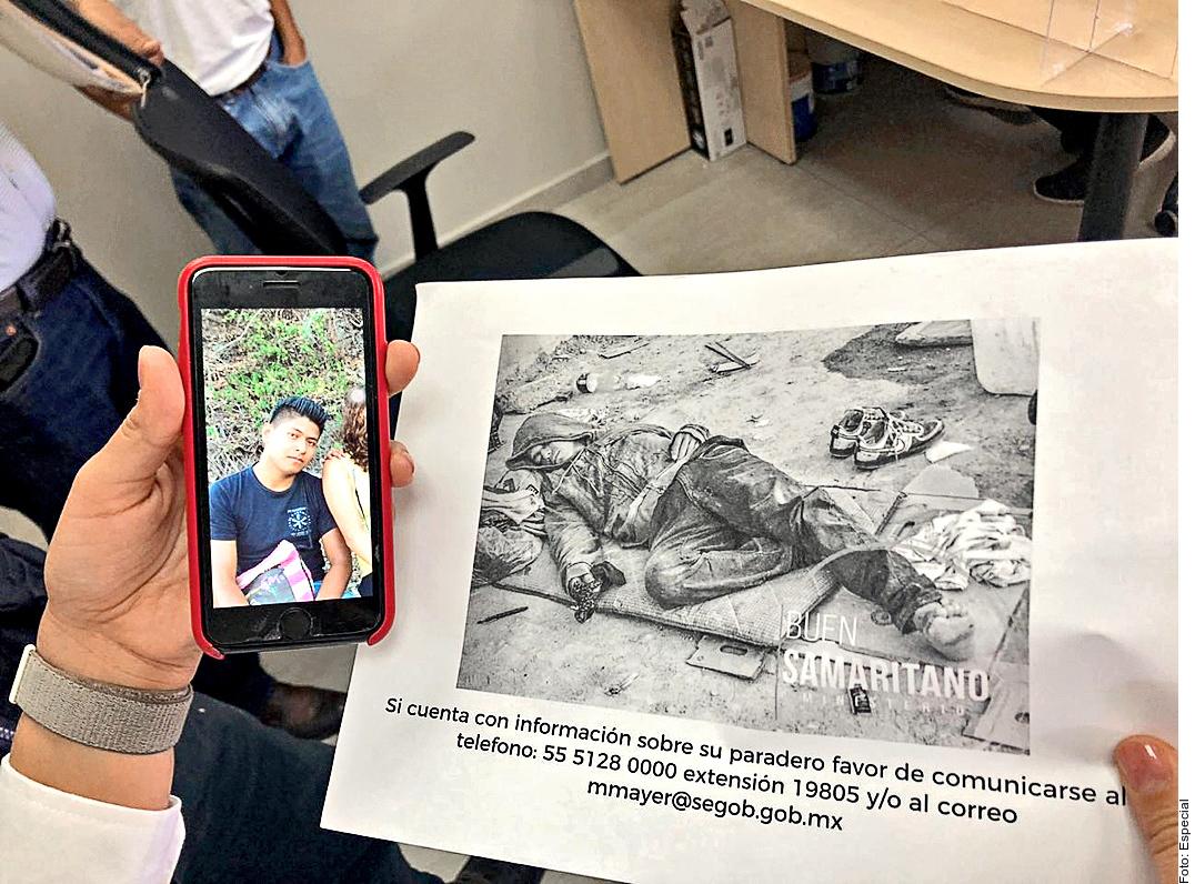 Jorge Antonio Tizapa Leguideño es buscado por su familia.