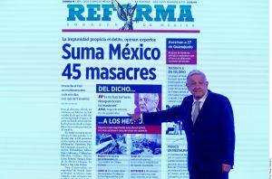 Burla de AMLO por masacres en México indigna a víctimas del crimen