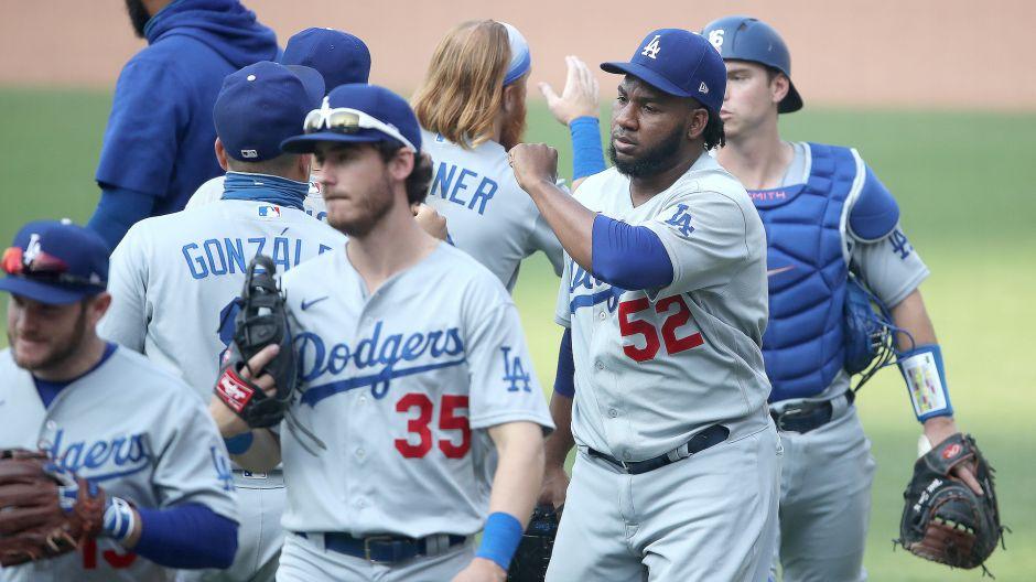Los Dodgers son el primer equipo en pasar a postemporada