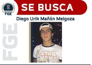 Emiten alerta migratoria contra Diego Urik Mañón, presunto feminicida de Jessica González, profesora de Michoacán