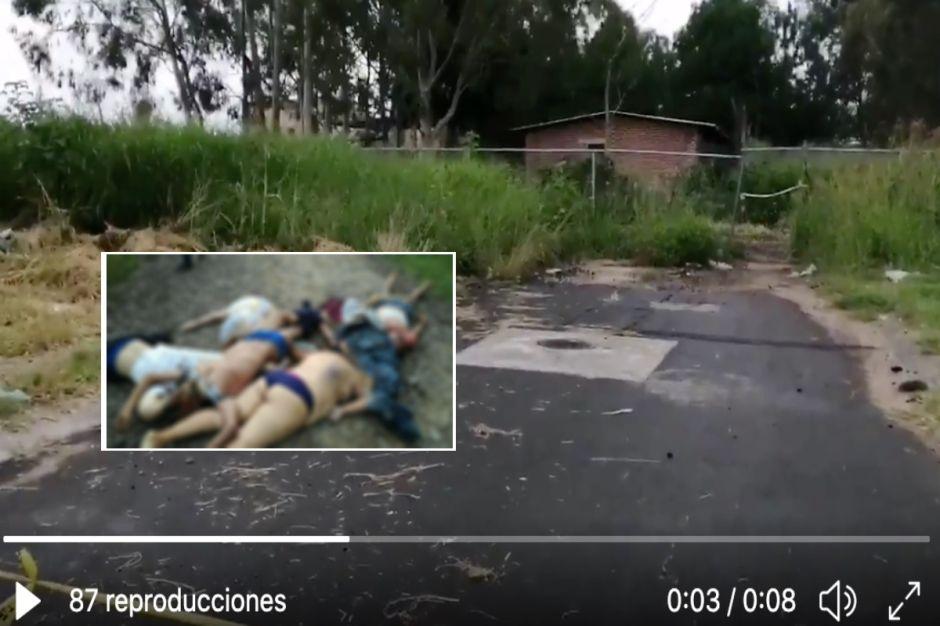 FOTOS: Así dejaron a 4 hombres y 2 mujeres; estaban torturados en territorio del Mencho