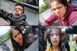 FOTOS: Jovencitas asesinas matan a balazos a tres policías y dejan herido a otro