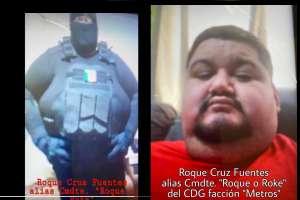 Fotos: Exhiben al Comandante Roque, presunto integrante del Cártel del Golfo