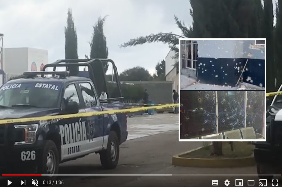 Fotos: Sicarios matan con cientos de balazos a jefe policiaco