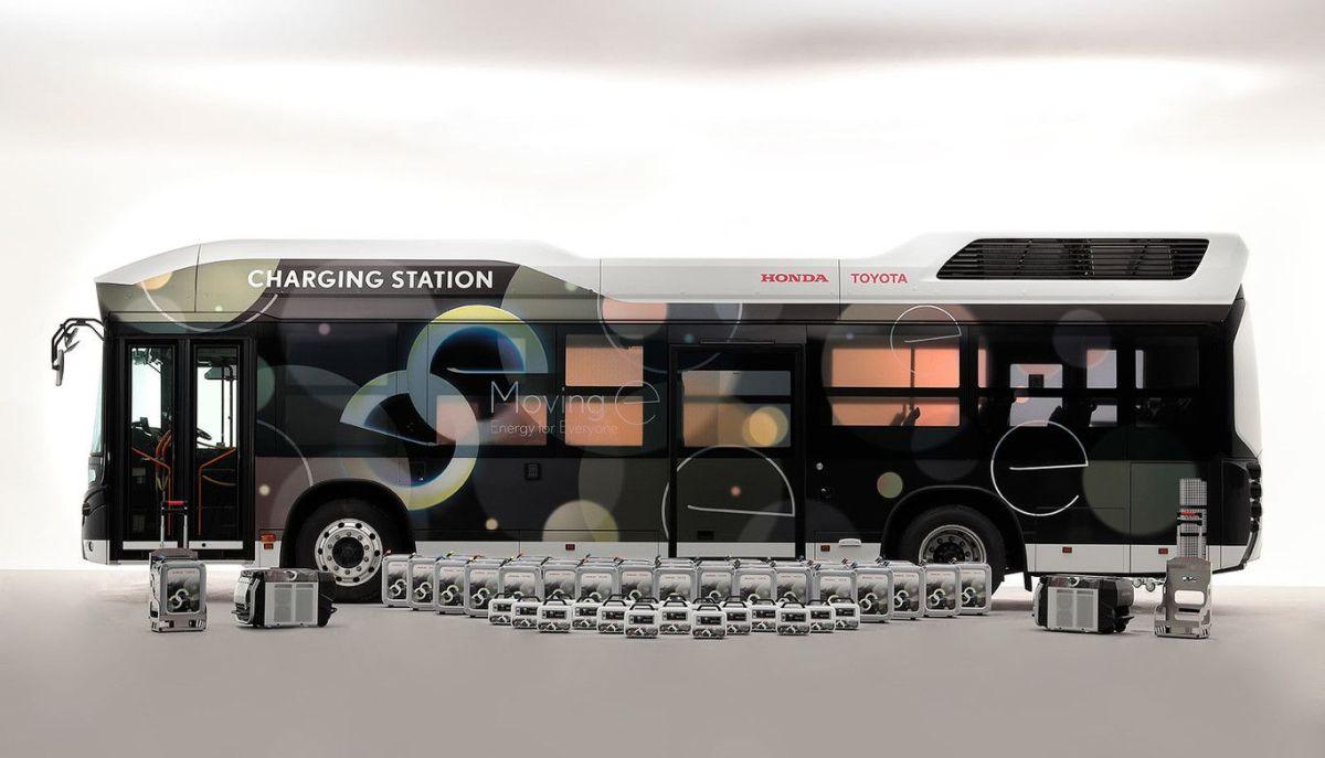 Fuel Cell Bus Charging Station. / Foto: Cortesía Toyota.