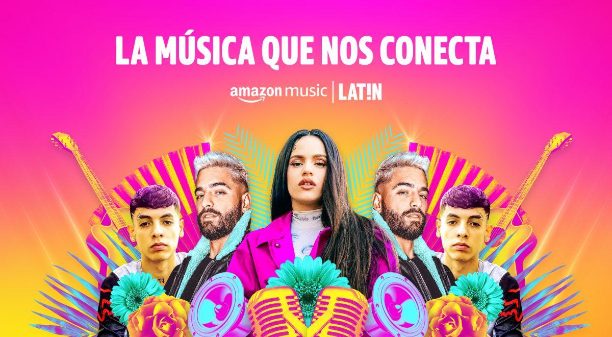 Cortesía: Amazon Music   Latin