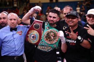 Para José Ramírez, la nueva estrella del boxeo mundial, la unificación de los cuatro títulos tendrá que esperar