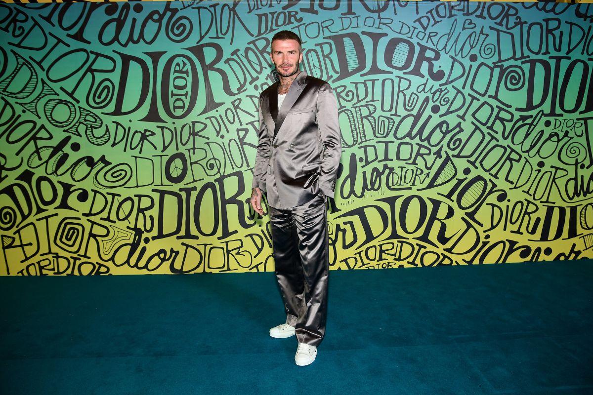 David Beckham siempre se ha caracterizado por vestir a la moda.