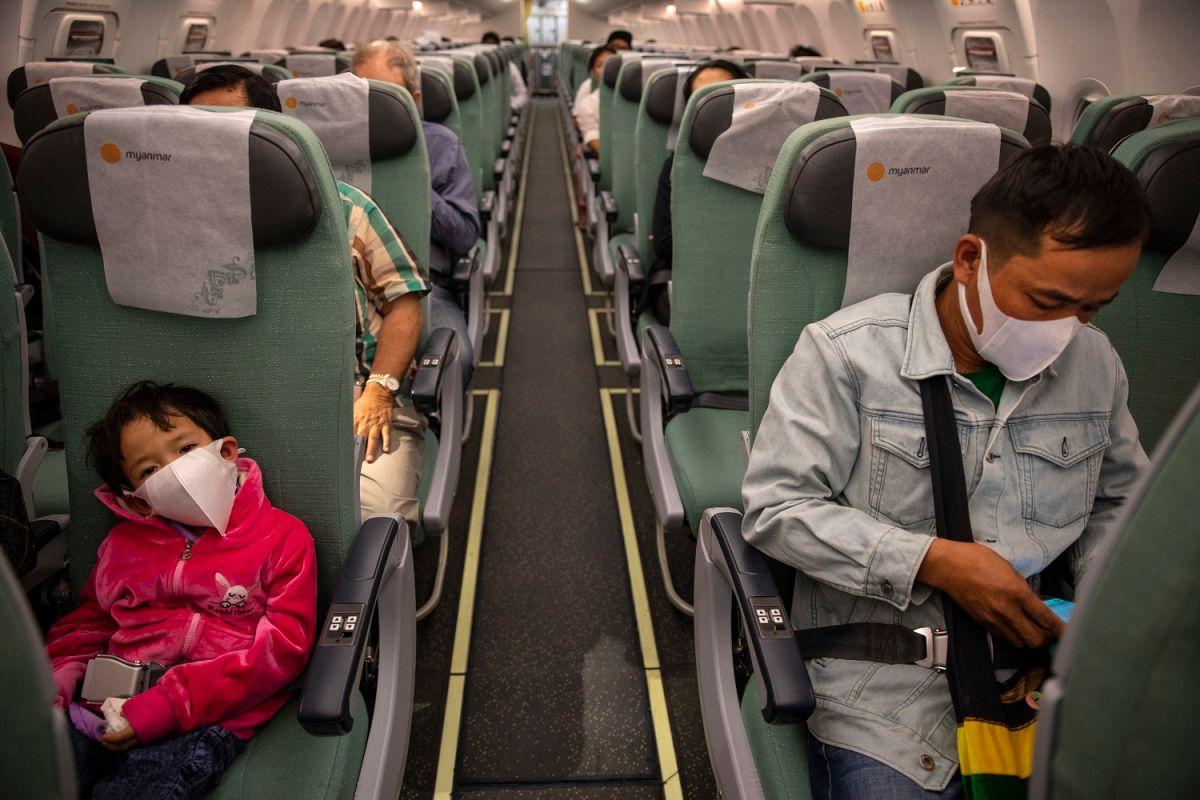 Un vuelo asiático con restricciones.