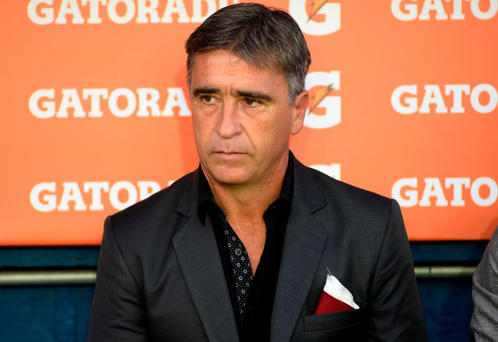 Martin Brignani, entrenador de Estudiantes de Mérida.