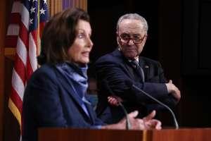 Schumer, en un movimiento poco común, toma el control del Senado para forzar la votación sobre atención médica