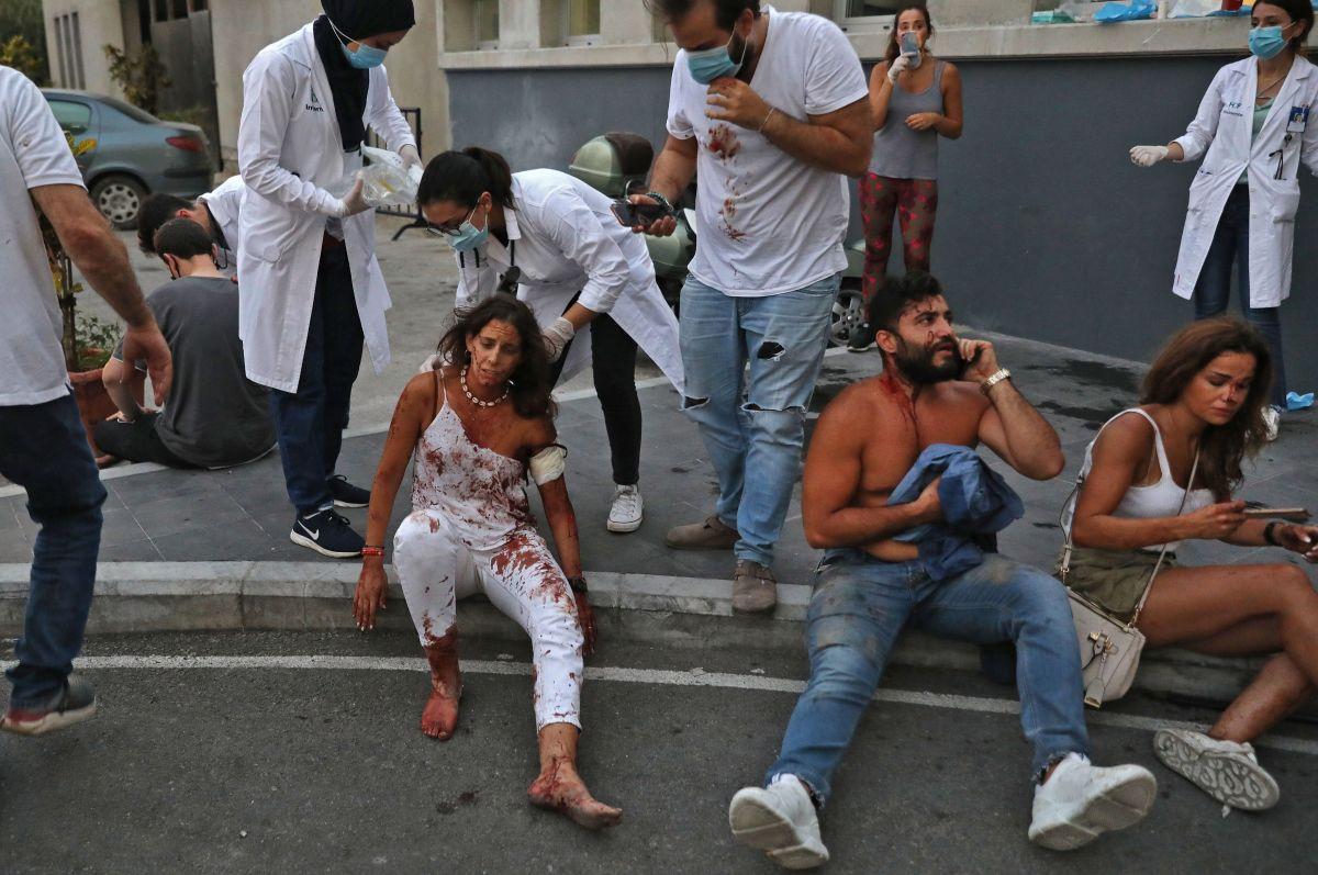 Milagro: escuchan a posible sobreviviente entre escombros, a un mes de masiva explosión en Beirut