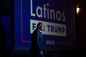 Trump insiste en nombrar a Venezuela para ganar el voto latino