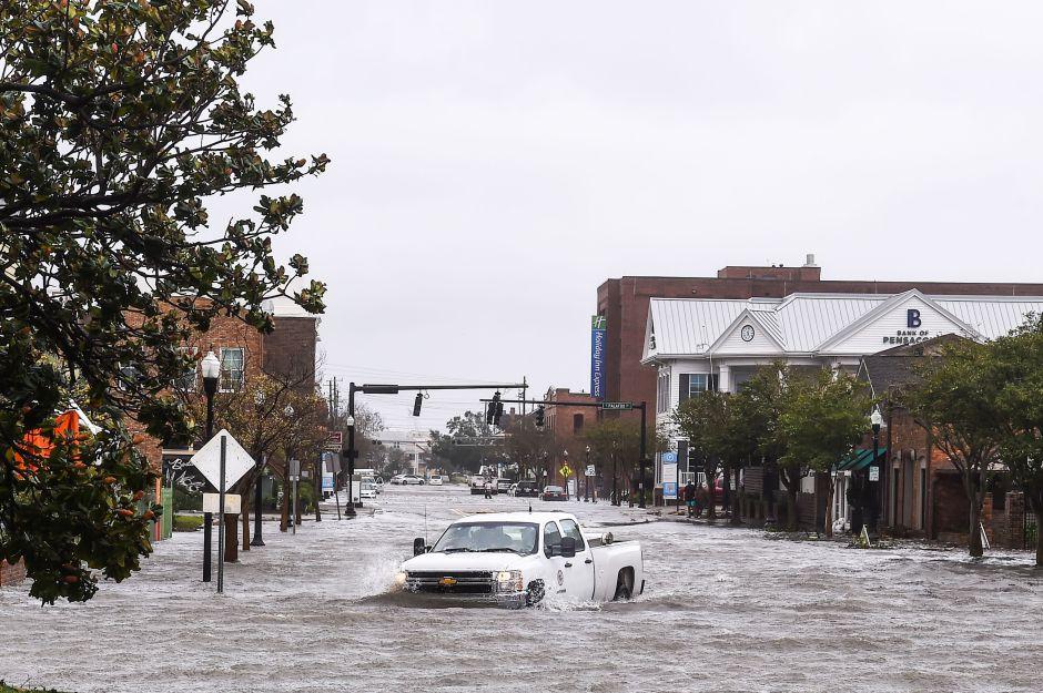 El huracán Sally es ahora una tormenta tropical rumbo a Alabama y Georgia