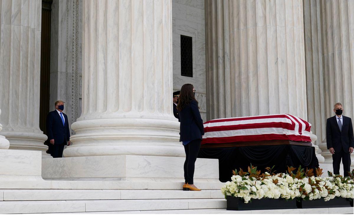 Trump anunciará este sábado su elección para el puesto de la jueza Ginsburg en el Supremo.