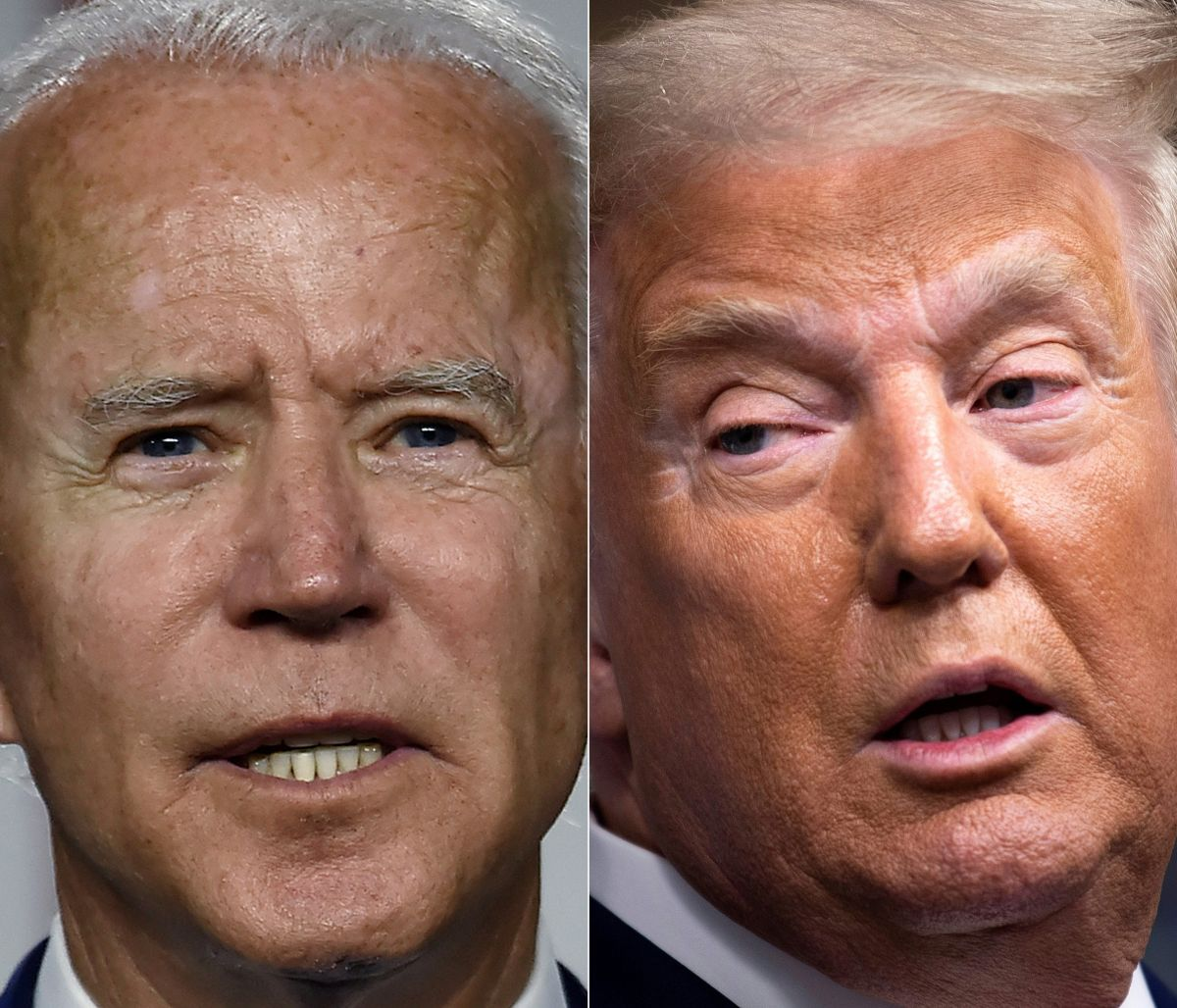 Un 52% de los hispanos dice que ya se ha decidido a votar por Biden.