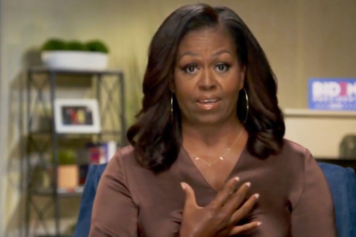 Michelle Obama aborda el racismo y habla en público con su familia sobre detención de su hermano
