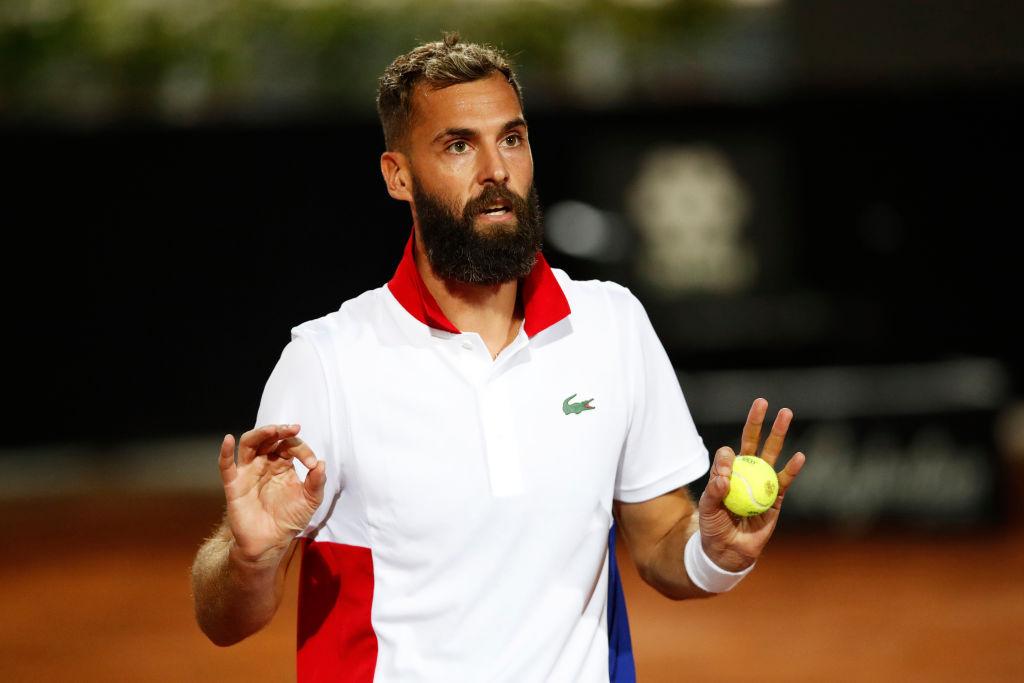 El tenista francés Benoit Pairé.