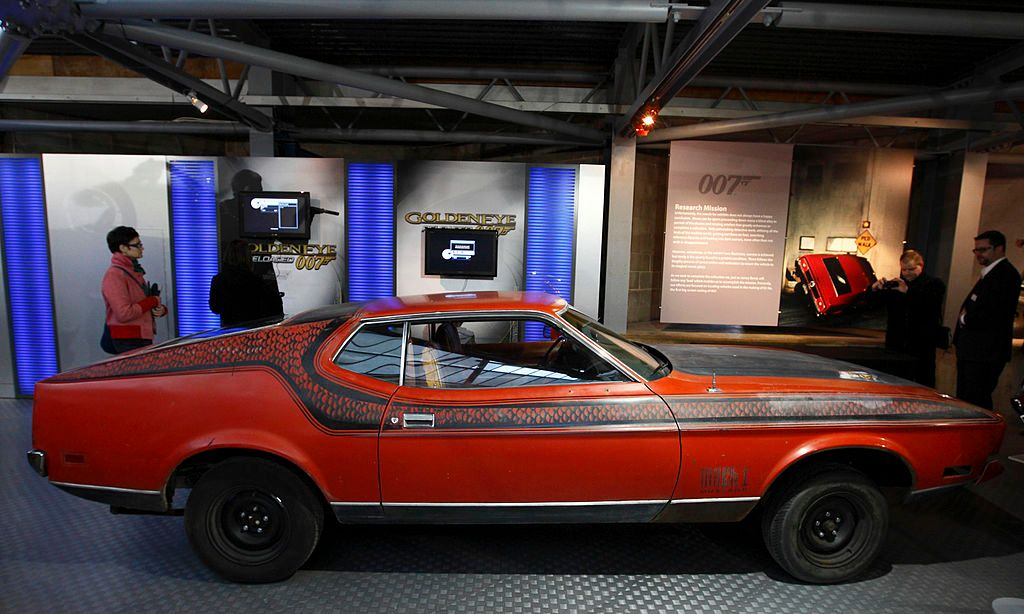 Ford Mustang Mach 1. / Foto: Getty Images.