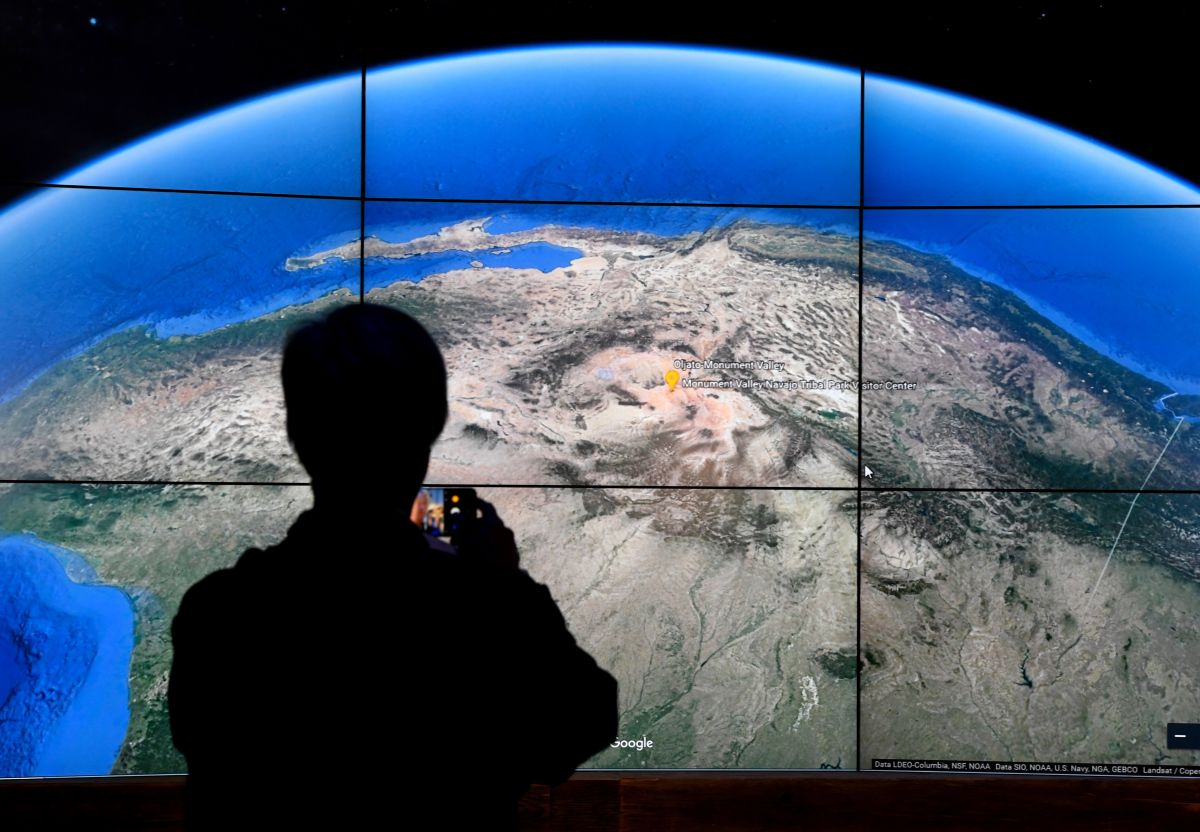 """El botón """"COVID-19"""" mostrará datos con desglose geográfico."""