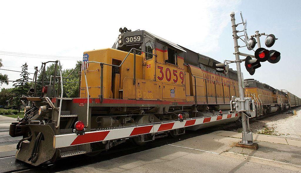 Tren de carga de Union Pacific. / Foto: Getty Images.