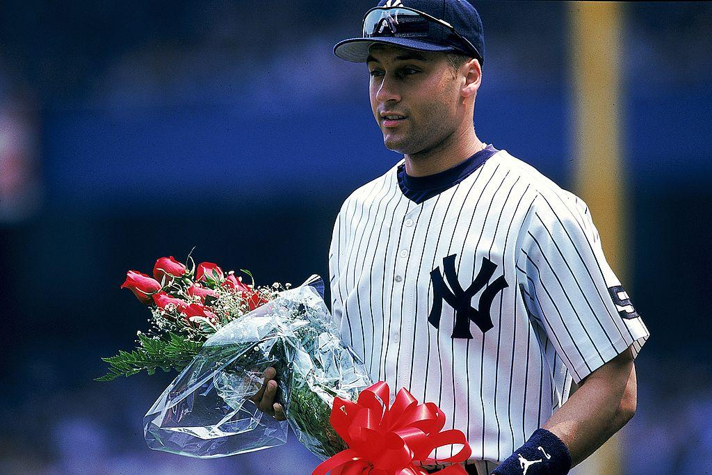 Derek Jeter con los NY Yankees en 1999.
