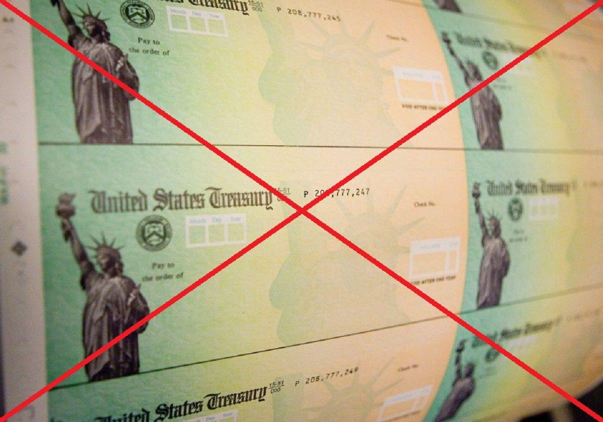 """Nuevo cheque de estímulo está """"en peligro"""""""