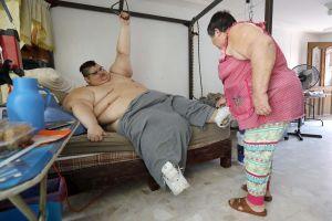 Mexicano que fue el hombre más gordo del mundo sobrevivió al coronavirus pero perdió a sus padres