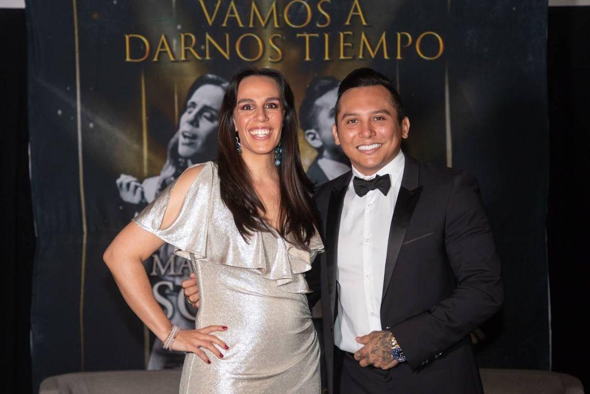 Marysol Sosa y Edwin  Luna.